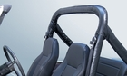 Full Roll Bar Cover Kit, 78-91 Jeep CJ and Wrangler by Rugged Ridge