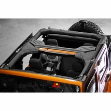 Roll Bar Cover, Vinyl, 07-14 Jeep Wrangler Unlimited by Rugged Ridge