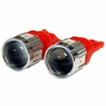 ( RT28064 ) 194 Type Red LED Bulb Kit, Universal Applications By RT Off-Road