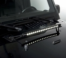 RT Off-Road 20-inch LED Light Bar & Hood Bracket Kit for Jeep Wrangler JK
