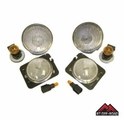 RT Off-Road Clear Marker & Turn Signal Lens Kit, 2007-2015 Jeep Wrangler JK