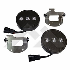 RT Off-Road H10 LED Fog Lamp Kit for 2007-09 Jeep Wrangler JK