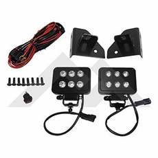 RT Off-Road Jeep Wrangler YJ & Jeep CJ LED Block Lamp Kit