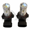 RT Off-Road LED Fog Lamp Bulb Kit for 2004 to 2015 Jeep Applications