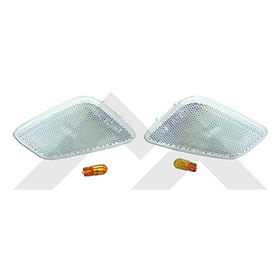 Rt Offroad Rt28017 Clear Sidemarker Lamp Kit For 1997 2006