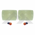RT-Offroad Clear Parking Lamp Kit for 1987-1993 Jeep Wrangler YJ