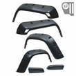 6-Piece All Terrain Fender Flare Kit, 97-06 Jeep Wrangler by Rugged Ridge
