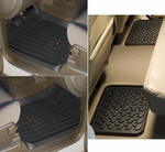 Rugged Ridge - All Terrain Front & Rear Floor Liner Mat Set - GM Trucks & SUV