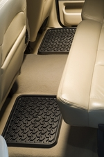 Rugged Ridge - All Terrain Rear Floor Liner Mats - Ford Trucks, F150 F250 F350 & SUV