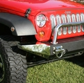 Stainless Steel Bumper Ends for Modular XHD bumper, 2007-2017 Jeep Wrangler JK & Wrangler Unlimited