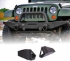 Standard Bumper Ends, XHD Modular Front Bumper by Rugged Ridge