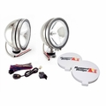 6-Inch Halogen Fog Light Kit, Stainless Steel Housings by Rugged Ridge