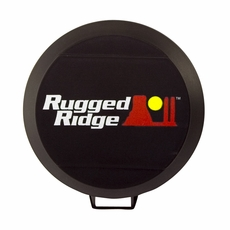 5 Inch HID Light Cover, Black by Rugged Ridge