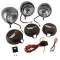 5-Inch Round HID Off Road Fog Light Kit, Stainless Steel Housing by Rugged Ridge