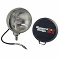 6-Inch Round HID Off Road Fog Light, Stainless Steel Housing by Rugged Ridge