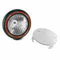 7-Inch Round HID Off Road Light, Black Composite Housing by Rugged Ridge