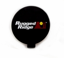 6-Inch Slim Off Road Light Cover, Black by Rugged Ridge