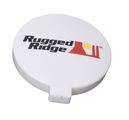 6-Inch Off Road Light Cover, White by Rugged Ridge