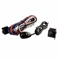 Off Road Light Installation Harness, 2 Lights by Rugged Ridge
