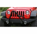 Stinger for XHD Modular Front Bumper, Fits 11540.10 and 11540.11 XHD front bumpers by Rugged Ridge