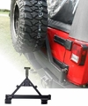 Tire Carrier, XHD Rear Bumper, 07-17 Jeep Wrangler by Rugged Ridge