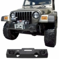 XHD Winch Mount Front Bumper, 76-06 Jeep CJ and Wrangler Models by Rugged Ridge