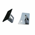 Windshield Light Brackets, Stainless Steel, 07-18 Jeep Wrangler by Rugged Ridge