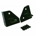 Windshield Light Mounting Brackets, 76-95 Jeep CJ and Wrangler by Rugged Ridge