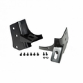 ( 1102702 ) Windshield Auxiliary Light Mounting Brackets, 97-06 Jeep Wrangler by Rugged Ridge