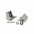 ( 1102802 ) Windshield Light Brackets, Stainless Steel, 97-06 Jeep Wrangler by Rugged Ridge