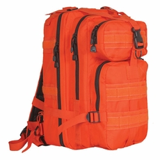 Safety Orange Medium Transport Backpack, Accepts Modular or A.L.I.C.E. attachments