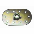 Seat Belt Mounting Oval with Welded Nut, 1/2-inch x 20 Thread, Universal