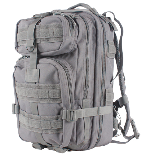 56-4209 Shadow Gray Medium Transport Backpack, Accepts