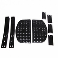 Side Step Kit, Pair, 1945-1949 CJ2A, 1948-1953 CJ3A, 1953-1967 CJ3B, 1955-1971 CJ5, 1955-1971 CJ6