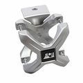Silver X-Clamp, Single, 2.25-3 Inches by Rugged Ridge
