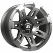 XHD Wheel, Gun Metal, 18x9 fits 07-17 Jeep Wranglers by Rugged Ridge