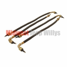 Spark Plug Cable Set, 24 Volt Waterproof System, Fits 1950-1951 M38
