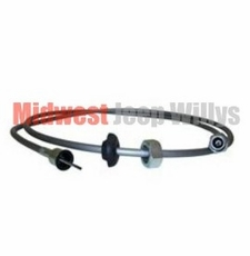 "Speedometer Cable, 67"" Long, fits 1963-1976 Jeep CJ5 with 4 Speed Transmission"