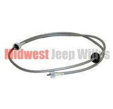 "Speedometer Cable, 69"" Long, fits 1955-1986 Jeep CJ5, CJ6, CJ7 & CJ8 Scrambler with Standard Transmission"