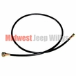 "Speedometer Cable Assembly, 60"" Long, fits 1950-1966 Military Jeep M38 and M38A1"