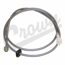 Speedometer Cable, fits 1991-1993 Jeep Wrangler YJ Without Cruise Control, Manual or Automatic Transmission