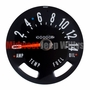 Speedometer Gauge Dial Head w/ Odometer Kilometers, 0-140 KPH Dial, fits 1955-79 Jeep CJ Models
