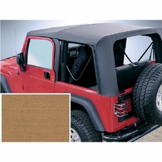 XHD Soft Top, Spice, Tinted Window, 97-06 Jeep Wrangler by Rugged Ridge