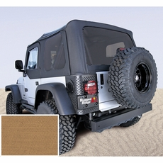 XHD Soft Top, Spice, Tinted Windows, 97-06 Jeep Wrangler by Rugged Ridge