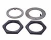Spindle Nut & Washer Kit, Fits WWII 1/4 Ton, M100 Trailer