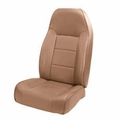 High-Back Front Seat, Non-Recline, Spice, 76-02 Jeep CJ and Wrangler by Rugged Ridge