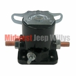 Starter Solenoid, 12 Volt, Fits 1955-1971 CJ3B, CJ5, CJ6, DJ, Pick Up Truck, Station Wagon, Sedan Delivery, FC Models with starter mounted solenoid