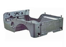 Steel Body Tub, 1950-1952 Willys M38, Omix-ADA (Tub Only)