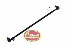 Steering Tie Rod Assembly, 1987-1990 Jeep Wrangler YJ, Includes 2 Ends & Tube, Pitman Arm to Tie Rod