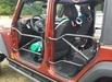 Steinjager Front and Rear Tube Door Kit, fits 2007-2015 Jeep Wrangler JK